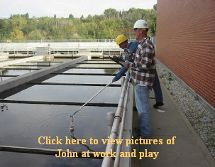 Click here to view pictures of   John at work and play